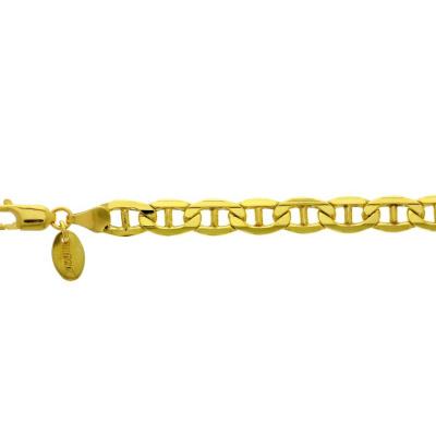 Foto van Gouden armband anker 6,5 mm 21 cm 50.00161