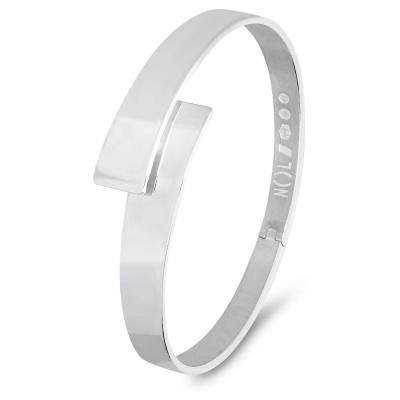 Zilveren handgemaakte armband van Nol Sieraden AG80254.10