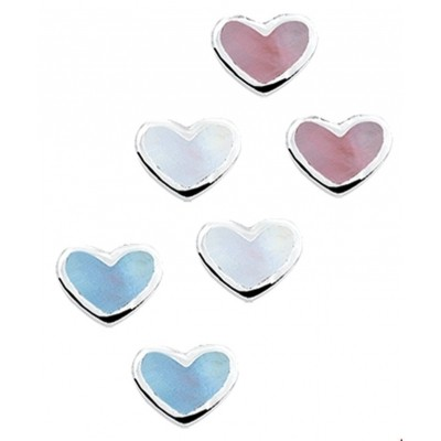 Oorknoppen hart assortiment 1014261