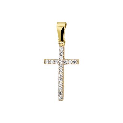 Hanger kruis zirkonia 40.16811