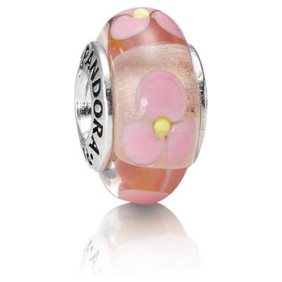Pandora Murano Roze Bloemen 790619