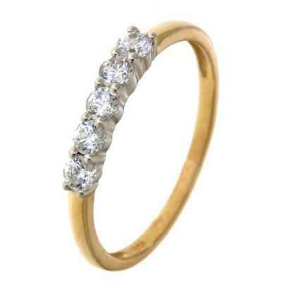Ring bicolor zirkonia RV425082-58