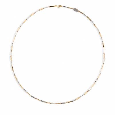 Foto van Bicolor gouden collier van Swing Jewels CORR 63B-45