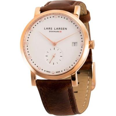 Lars Larsen Dames horloge 137RWBL