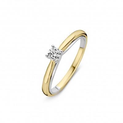 Foto van Ring bicolor briljant 0,25crt RG416371-56