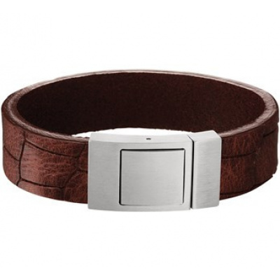 Armband leer 18 mm 21 cm 65.05641