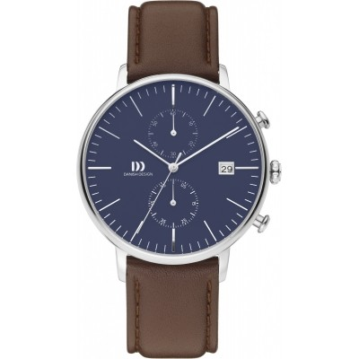DANISH DESIGN WATCH CLASSIC CHRONOGRAPH IQ42Q975 Roestvrij Staal