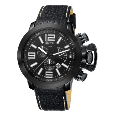 Esprit Collection Uranos Night herenhorloge EL900211004