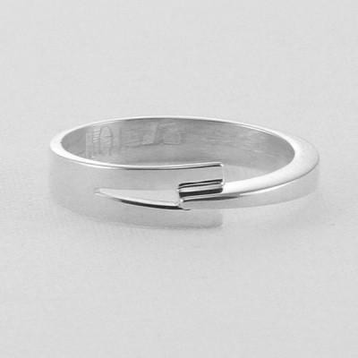 Foto van Zilveren handgemaakte ring van Nol Sieraden AG77133.5