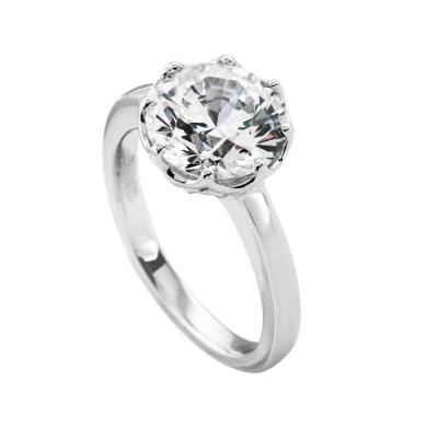 Foto van Diamonfire 814.0086 zilveren ring met zirkonia