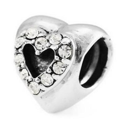 Ohm Crystal Heart