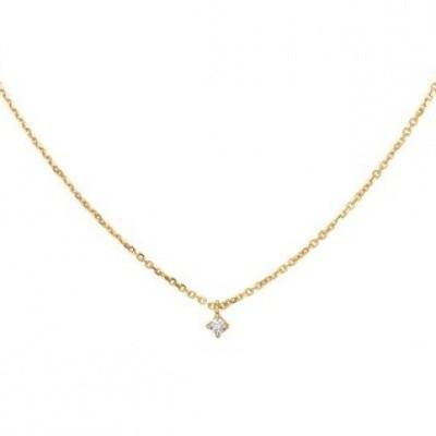 Collier diamant 0.05ct H SI 41 - 43 - 45 cm 40.18710