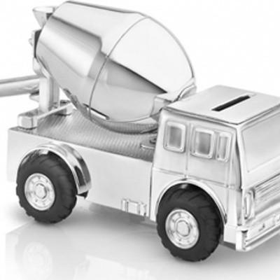 Foto van Zilverstad Spaarpot Cementwagen 6163261