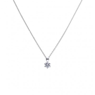 Foto van DIAMONFIRE ZILVEREN COLLIER DIAMONFIRE - 0.75 CT - 803.0032.45