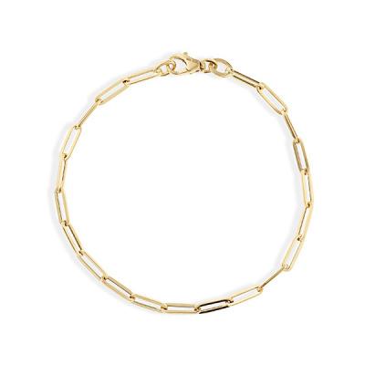 Foto van Gouden paper clip armband van Swing Jewels 0265.3067.19.01
