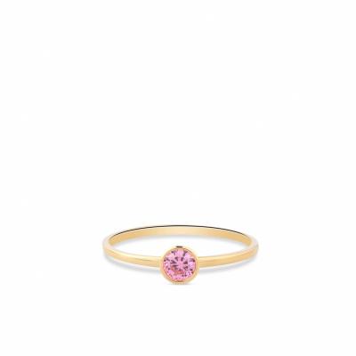 Geelgouden ring met zirkonia RDC01-4302-01
