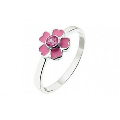 Ring bloem zirkonia 1018133