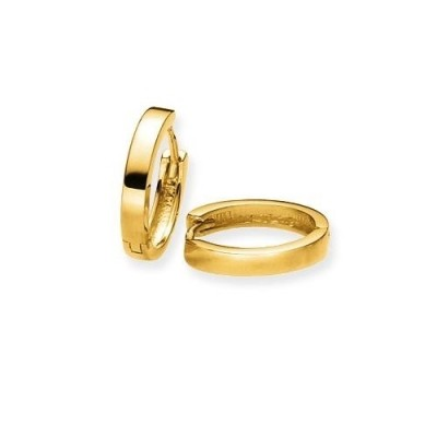Glow gouden klapcreolen 207.5076.14