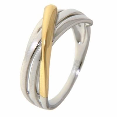 Ring zilver/goud RF605180-56