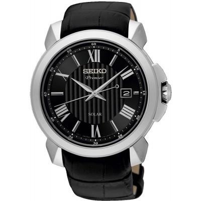 Seiko Premier SNE455P2 horloge heren