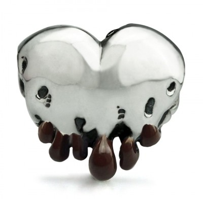 OHM Beads Melting Hearts Chocolate Tips LE AAL03502