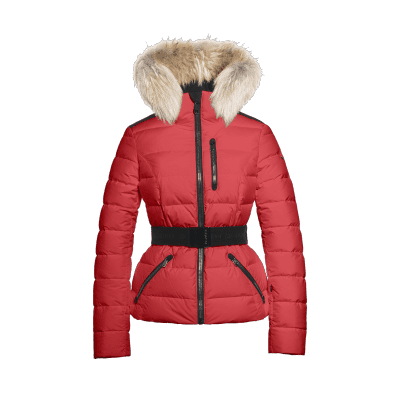 Goldbergh Vita Fur Ski Jas Poppy Red