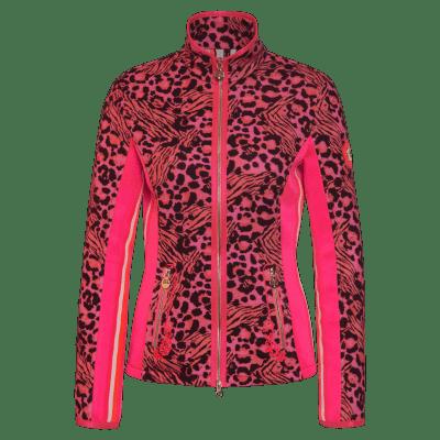 Foto van Sportalm Aussie Leo Pink Fleece vest Dames