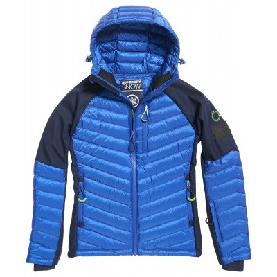 Foto van Superdry Kiso Padded Racer Jacket Heren