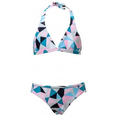 Snapper Rock Pink Geo Bikini