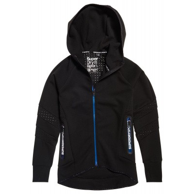 Superdry Sport Core Gym Tech Panel Ziphood