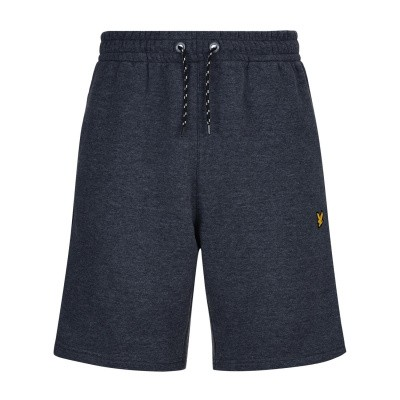 Lyle & Scott Fleece Short Navy Marl
