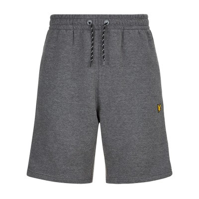 Lyle & Scott Fleece Short Grijs