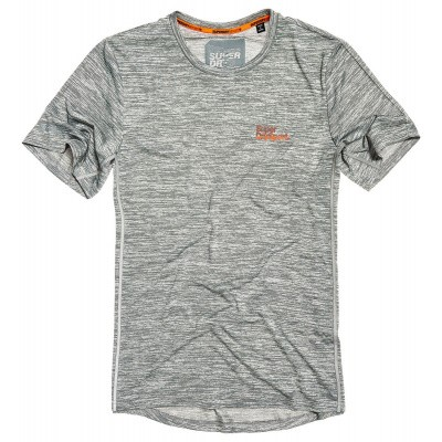 Foto van Superdry Sport Active Training Tee Grijs