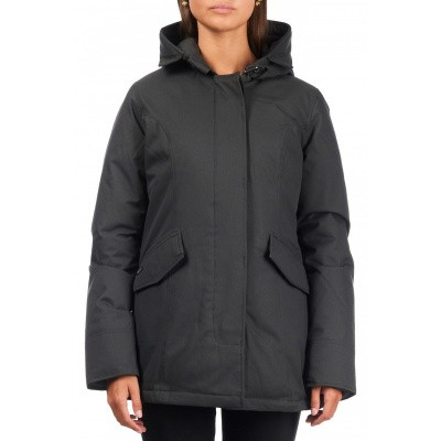 Airforce 2 Pocket Herringbone Classic Parka Grijs Dames