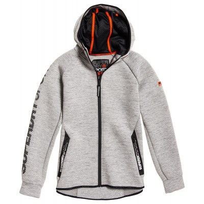 Foto van Superdry Sport Gym Tech Stretch Ziphood