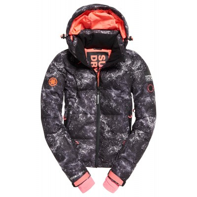 Foto van Superdry Snow Shadow Down Jacket Dames