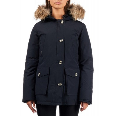 Airforce 4 Pocket Parka Navy Blue Dames