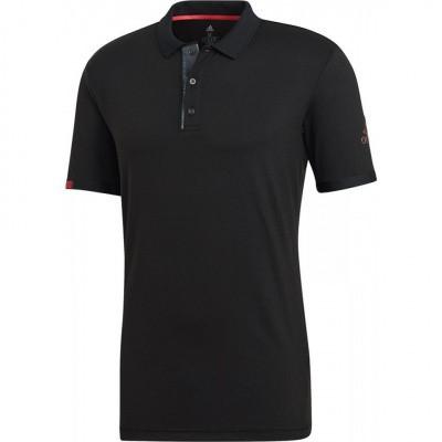 Foto van Adidas Match Code Polo Zwart