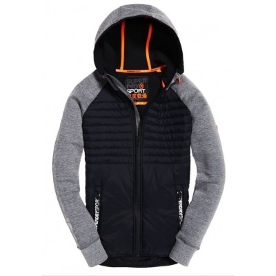Superdry Gym Tech Hybrid Ziphood