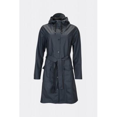 Rains Curved Jacket, Dames
