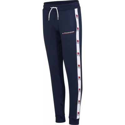 Tommy Sport Flag Tape Jogger Dames Navy