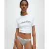 Afbeelding van Calvin Klein THONG D1617E-020 GREY HEATHER