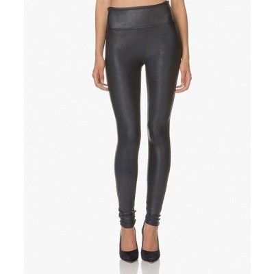 Foto van Spanx FAUX leather leggings 2437 Night Navy