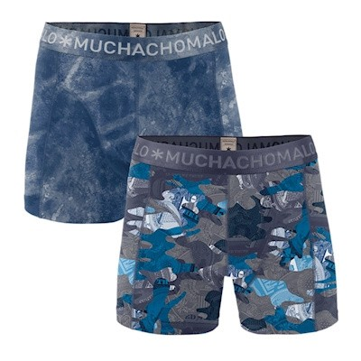 Foto van Muchachomalo boys 2 packs shorts HUSTLER 1010JHUSTL04