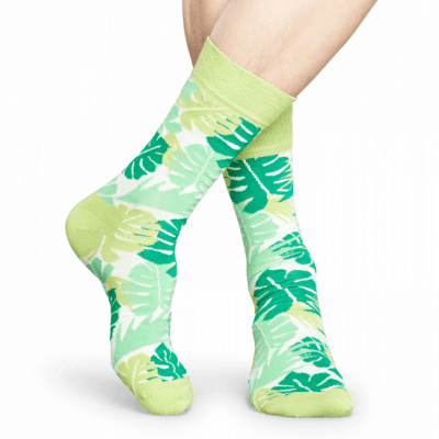 Foto van Happy socks JUN01-7000 Leaves Sock
