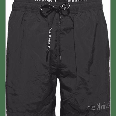Foto van Calvin Klein zwembroek MEDIUM DRAWSTRING, SHORT DOUBLE WB, 001 KM0KM00167001