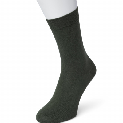 Foto van Bonnie Doon Cotton Socks 83422 DARK GREEN