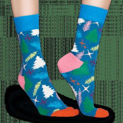 Foto van Happy socks DRESSED TREE TRE01-6000