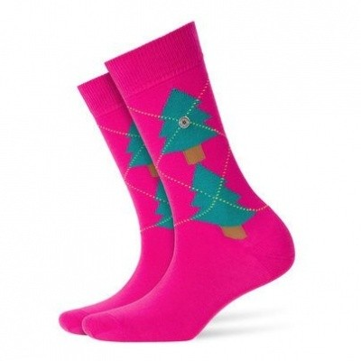 Foto van Burlington Fashion Christmas sock 20680 8550