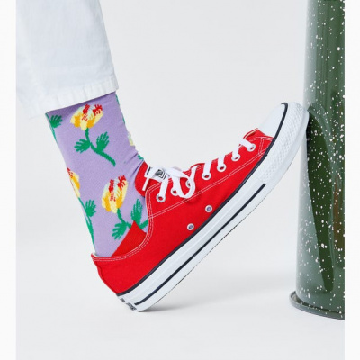 Foto van Happy socks HAND FLOWER SOCK HFL01-5000